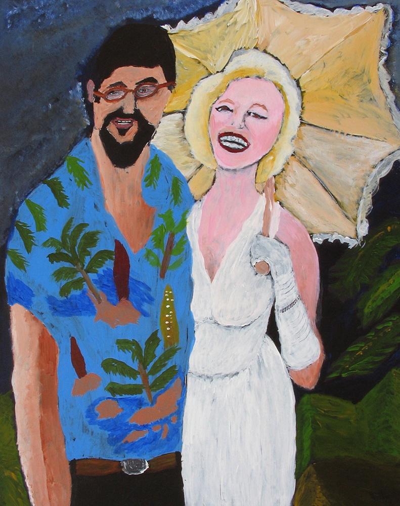 'Charles & Marilyn' by Charles Unser